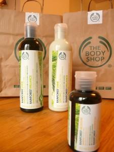 TBS shampoo en conditioner