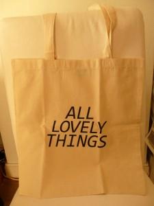 Ik ben zo blij met de tote bag!!