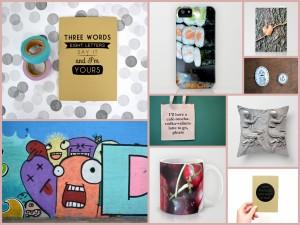 Een paar voorbeelden van leuke items van Marieken