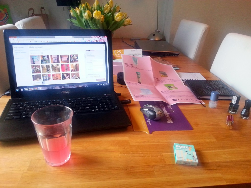 Aan het bloggen