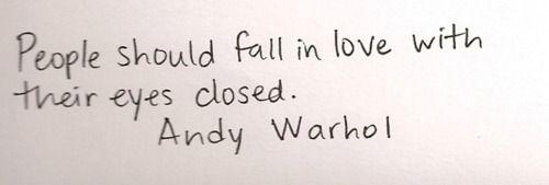 Wijze woorden van Warhol