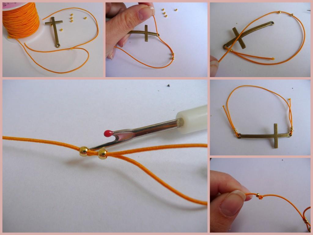 De stappen voor armband nummer twee