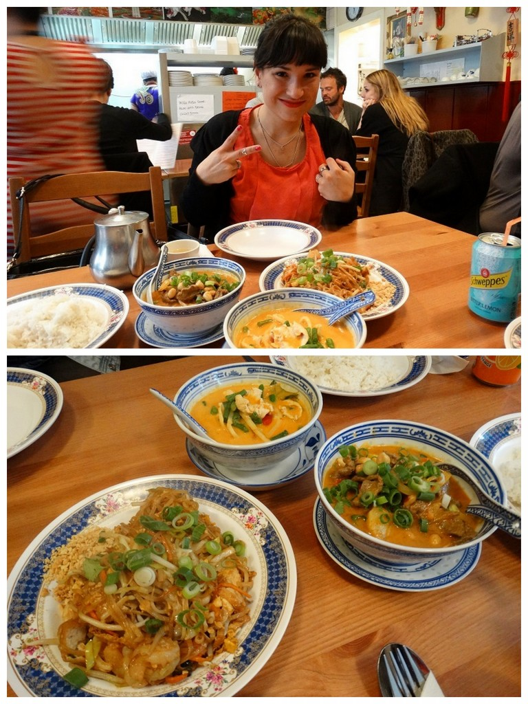 Eten bij Ocha, het was heerlijk!