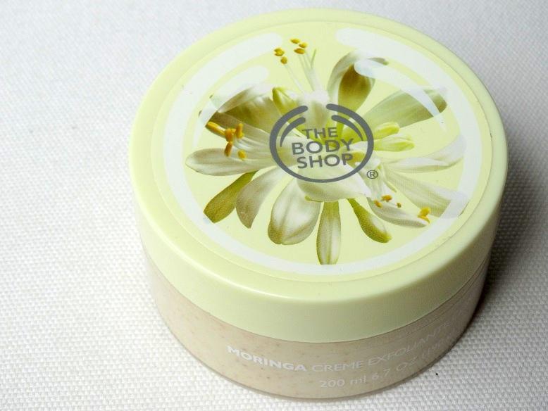 Winactie, Moringa Cream Body Scrub, The Body Shop