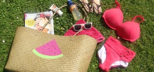 DIY Watermeloen tas Watermelon bag