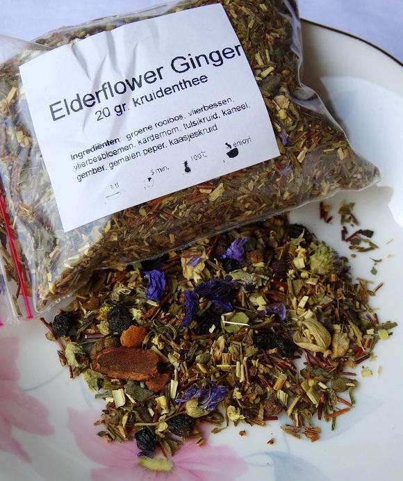 Evans & Watson losse thee Elderflower Ginger