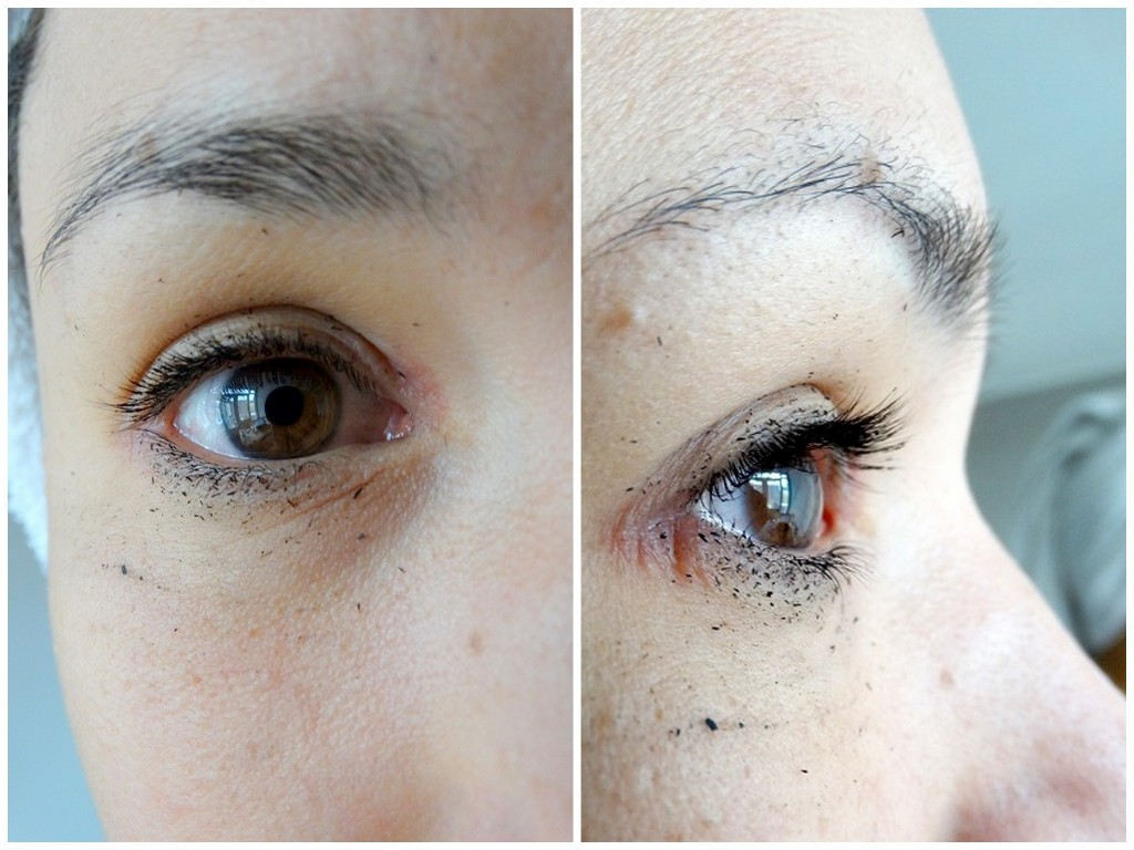 Le Volume Chanel Mascara waterproof test