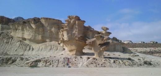 Mazarron Bol Nuevo erosie kalksteen