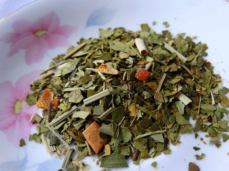 losse thee Friendly Maté kruidenthee Evans & Watson tea herb  green tea