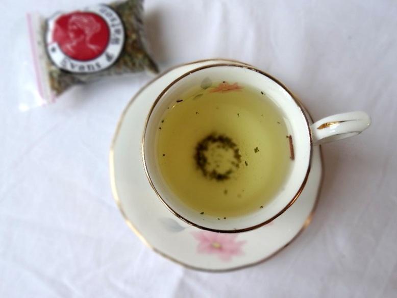 tea leaves review Evans & Watson  herb tea