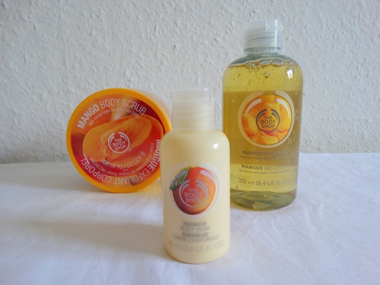 Body-Shop- Mango- review- scrub- showergel-bodylotion- dagelijkse favorieten