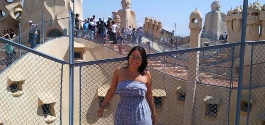 Barcelona Gaudi stedentrip travel tag