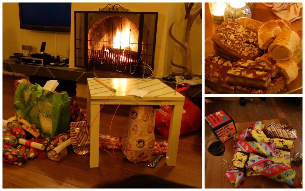 Sinterklaas avond cadeau