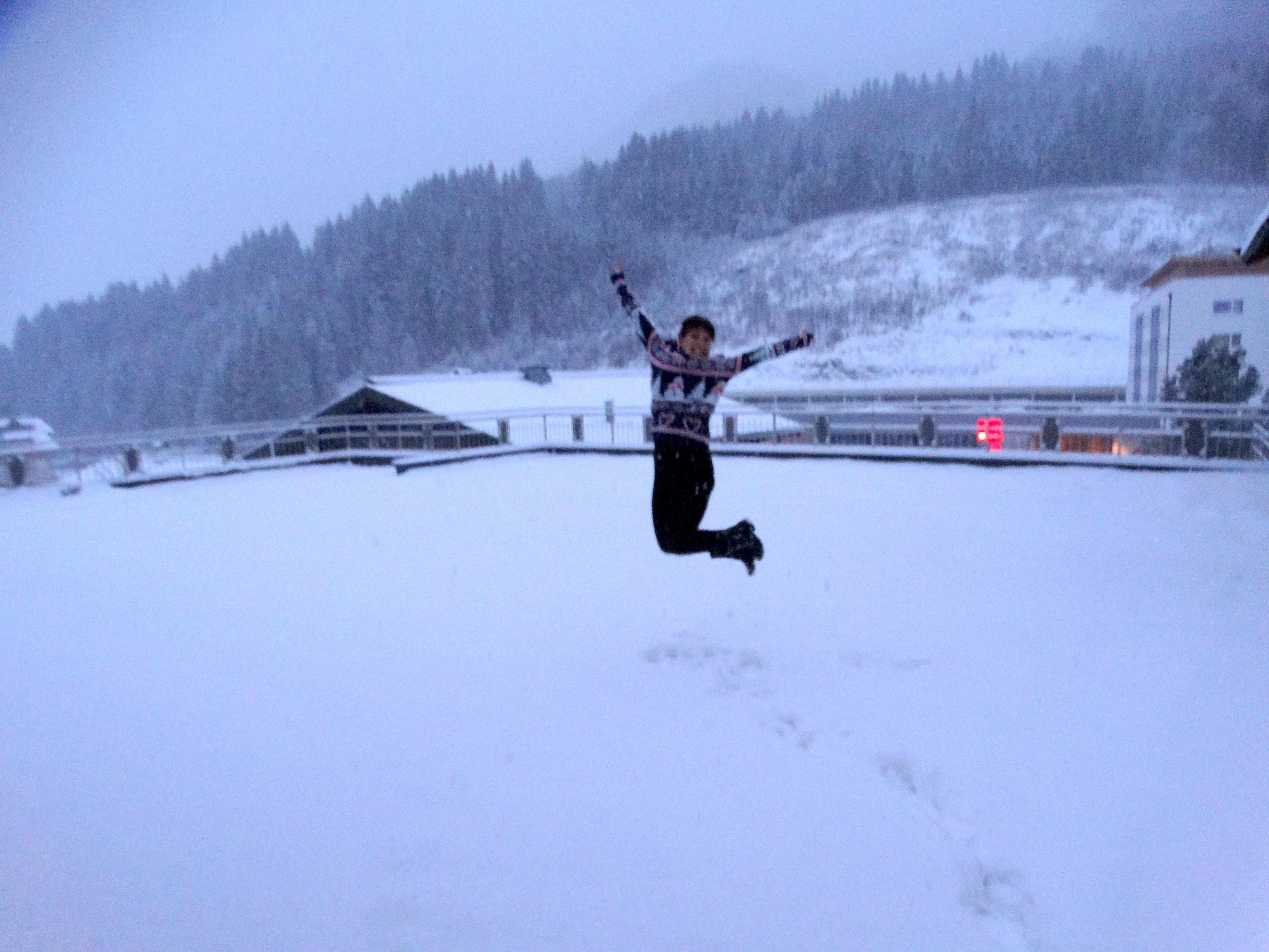 dikke mensen skien