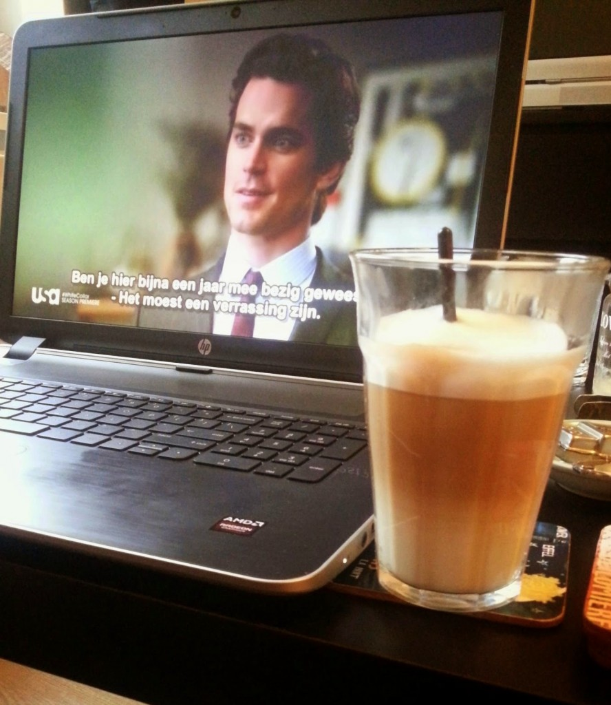 White Collar koffie break