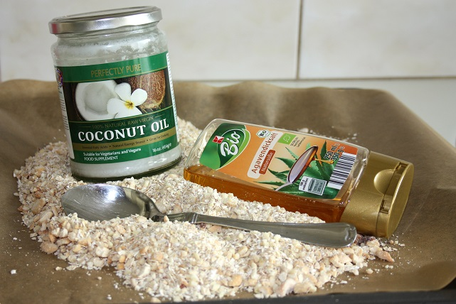 granola havermout agave