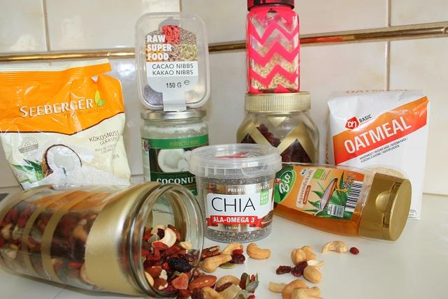 granola recept ingredienten