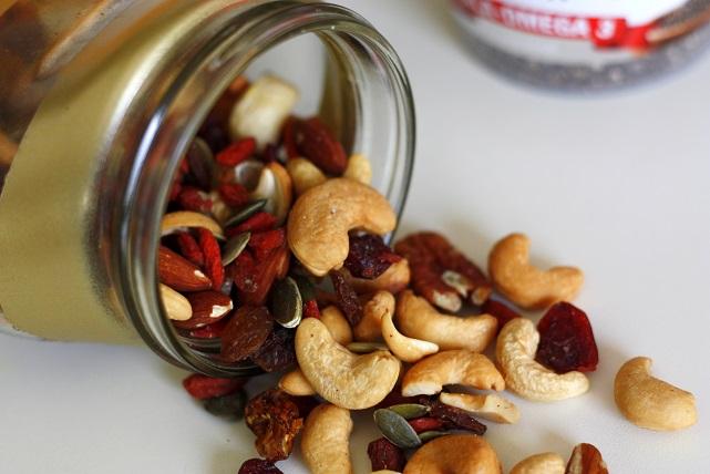 granola recept noten