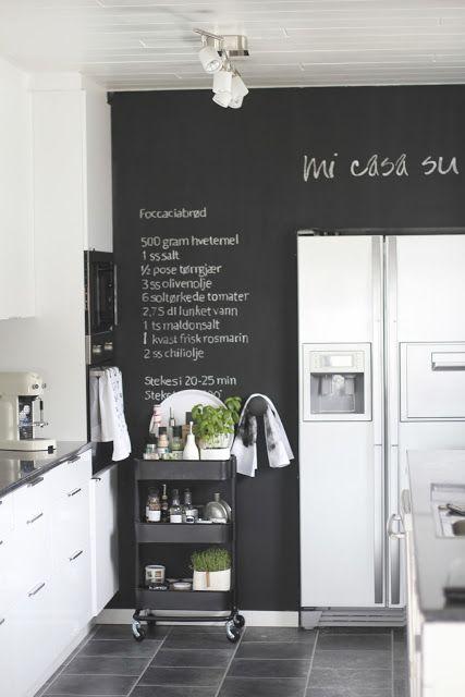 ♥ Interieur stylingtips voor je krijtbord (verf) - All Lovely Things