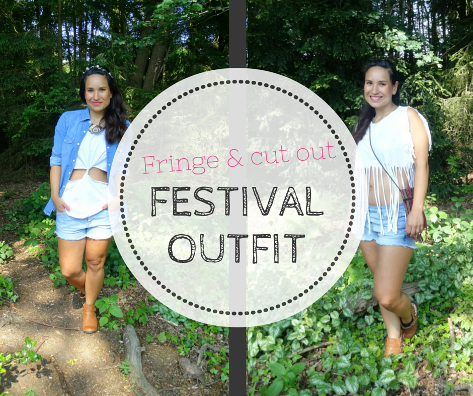 Fringe & cut out festival outfit