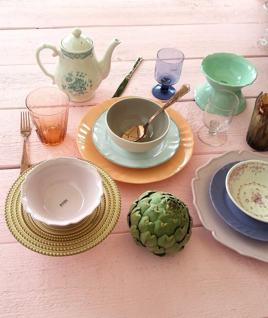 Bitossi servies tafellen