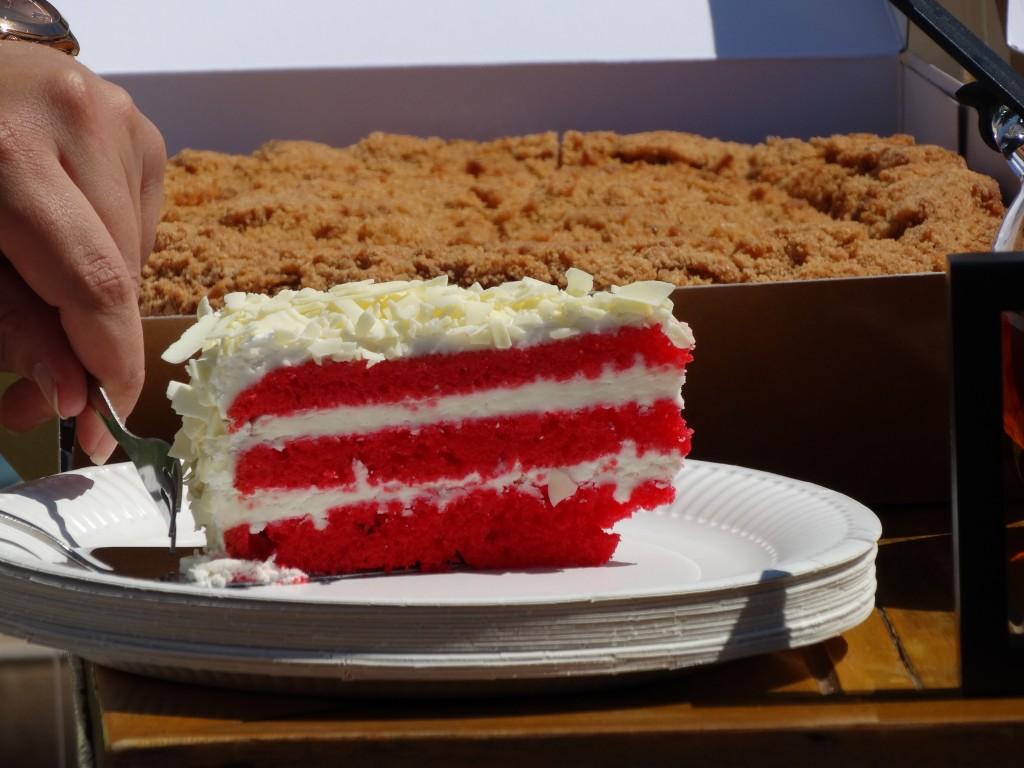 Dudok appeltaart red velvet cake