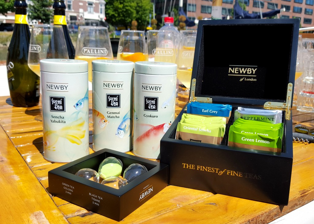Newby Teas Bloggers on BoardNewby Teas Bloggers on Board