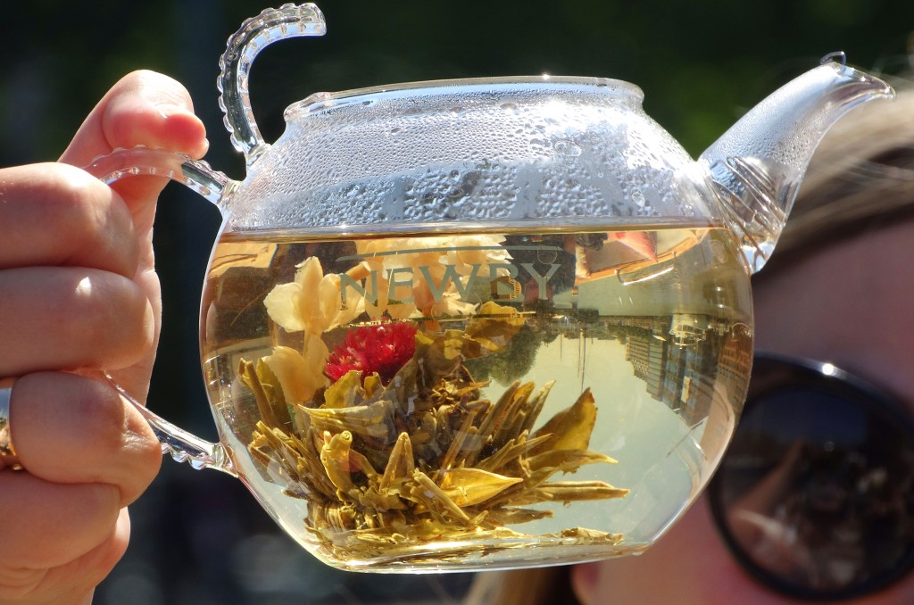 Thee bloem Newby Teas