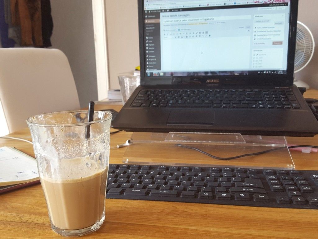 Asus bloggen koffie diaryblog all lovely things