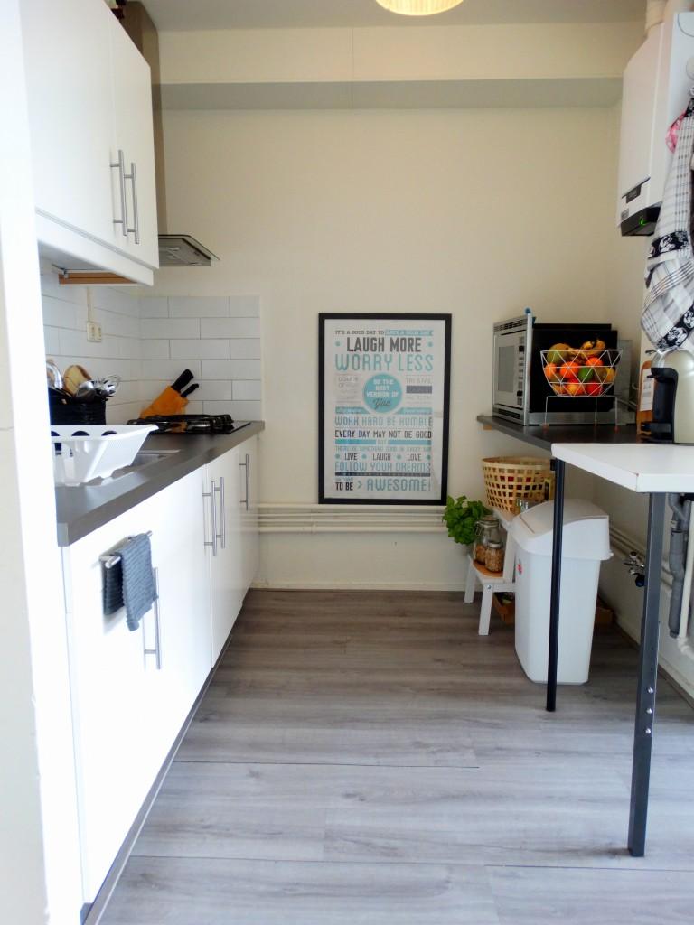 nieuwe keuken inrichting
