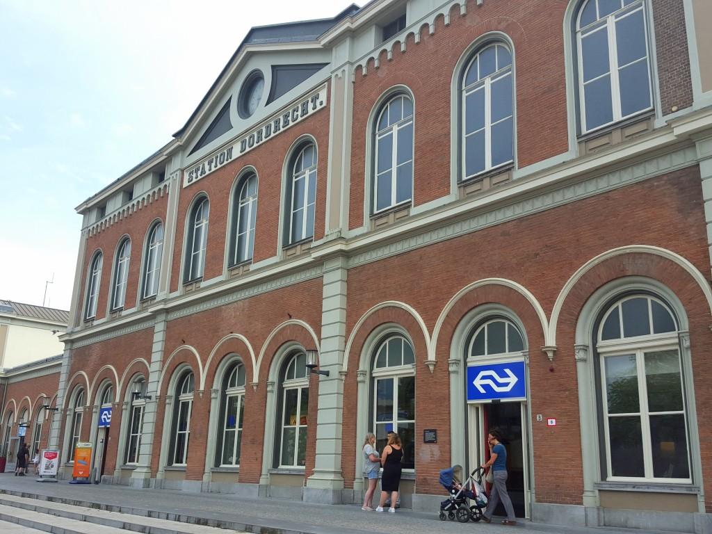 station Dordrecht Nederland