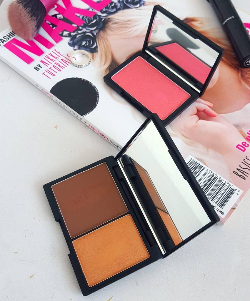 blush rose gold contour kit dark van sleek, review