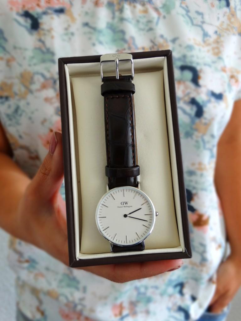 New in Daniel Wellington nieuw horloge