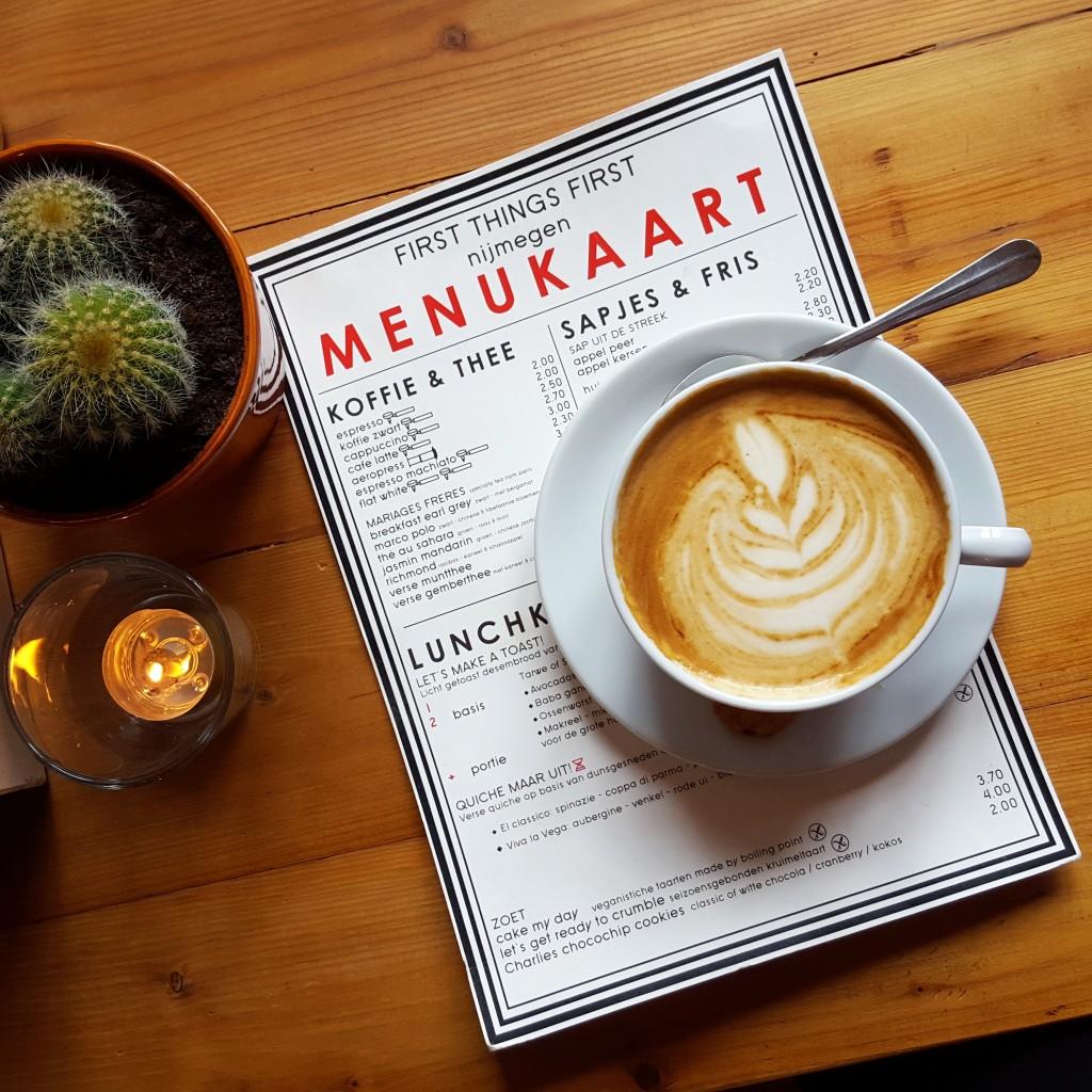 first things first koffie nijmegen