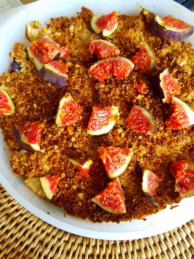fruit vijgen crumble all lovely things