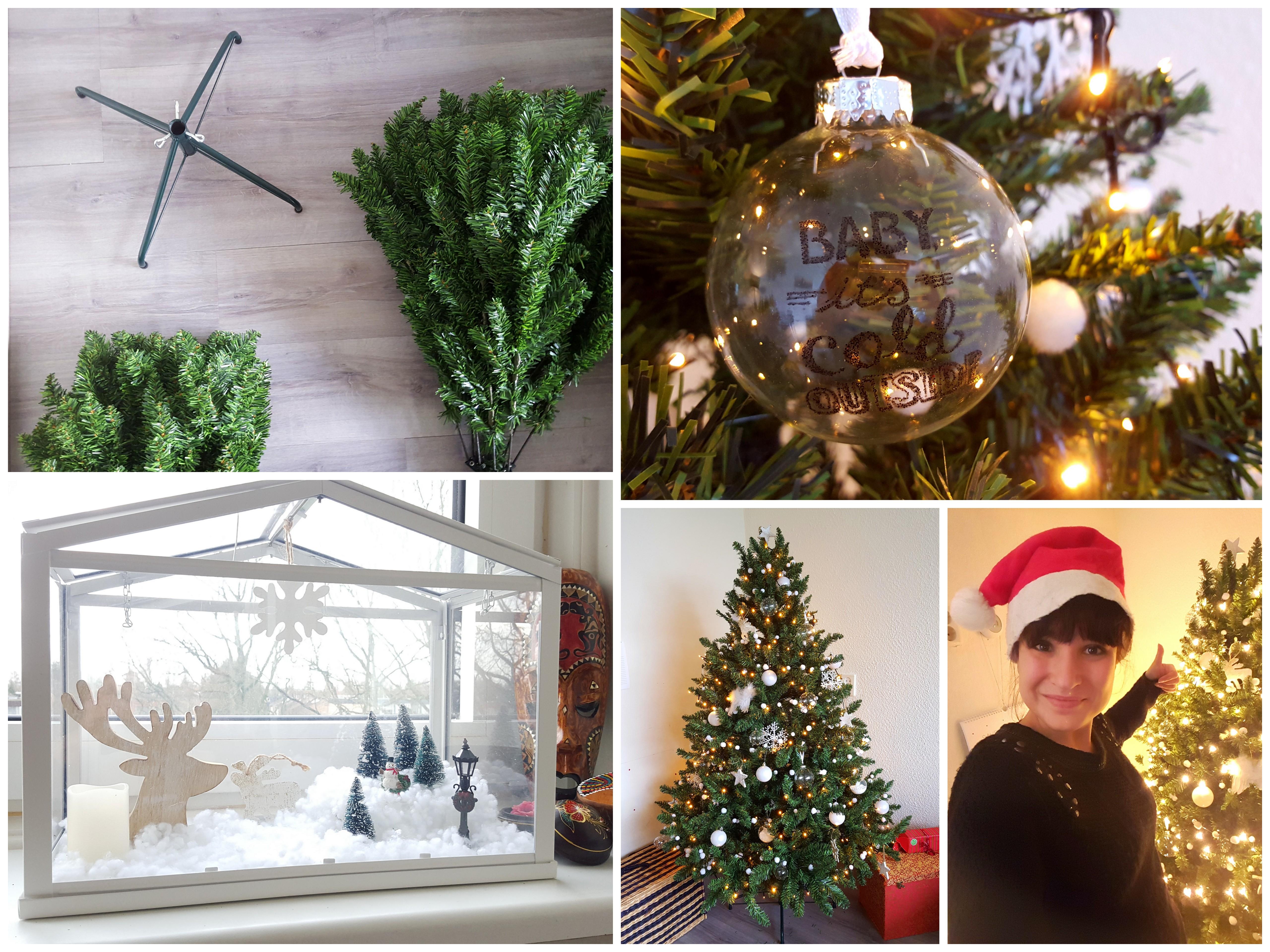 kerstboom opzetten kerst interieur