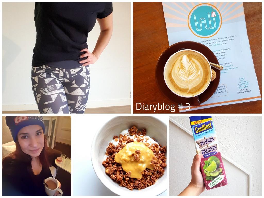 Diaryblog 3 inpakken en sporten