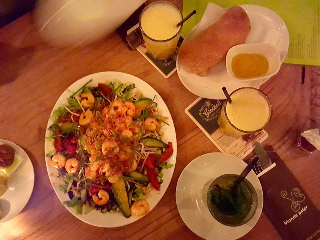 nijmegen garnalen salade