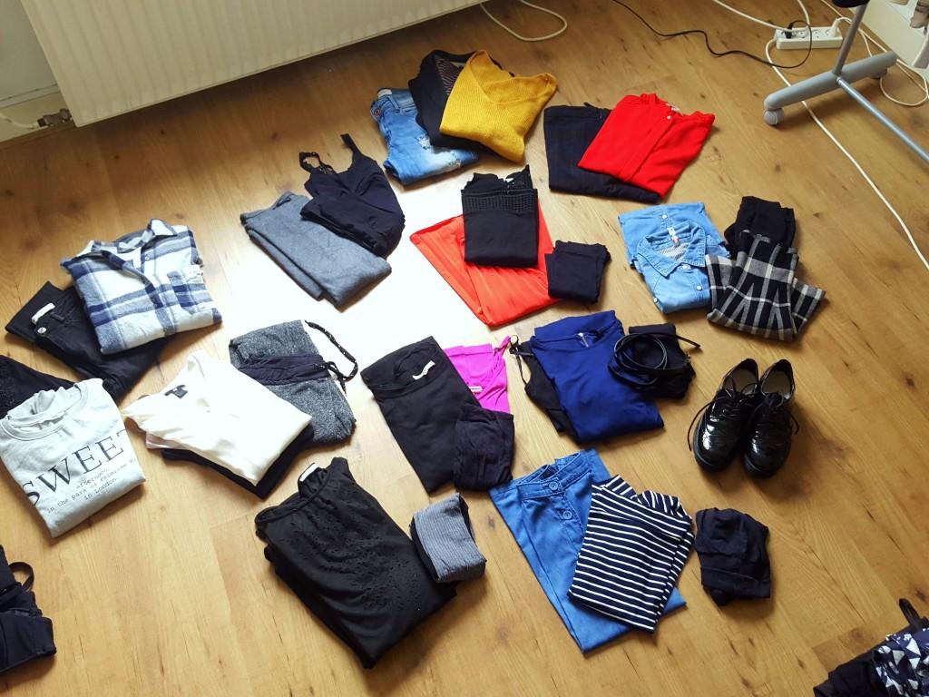 kleren uitzoeken