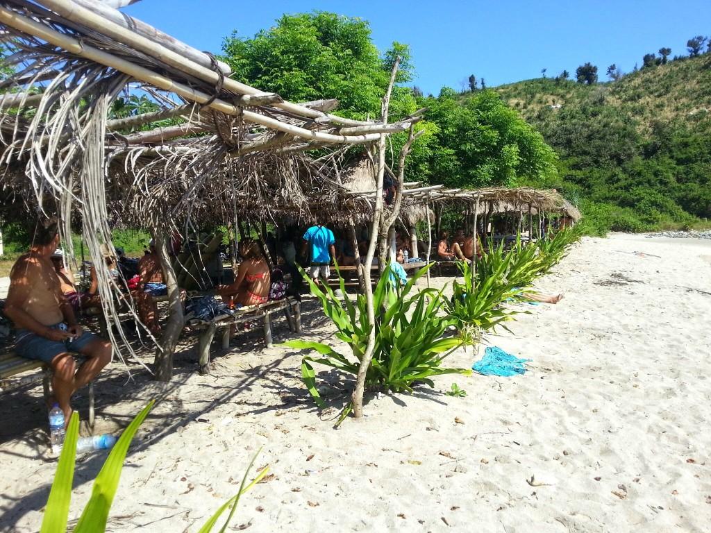 mawi surf strand van kuta lombok