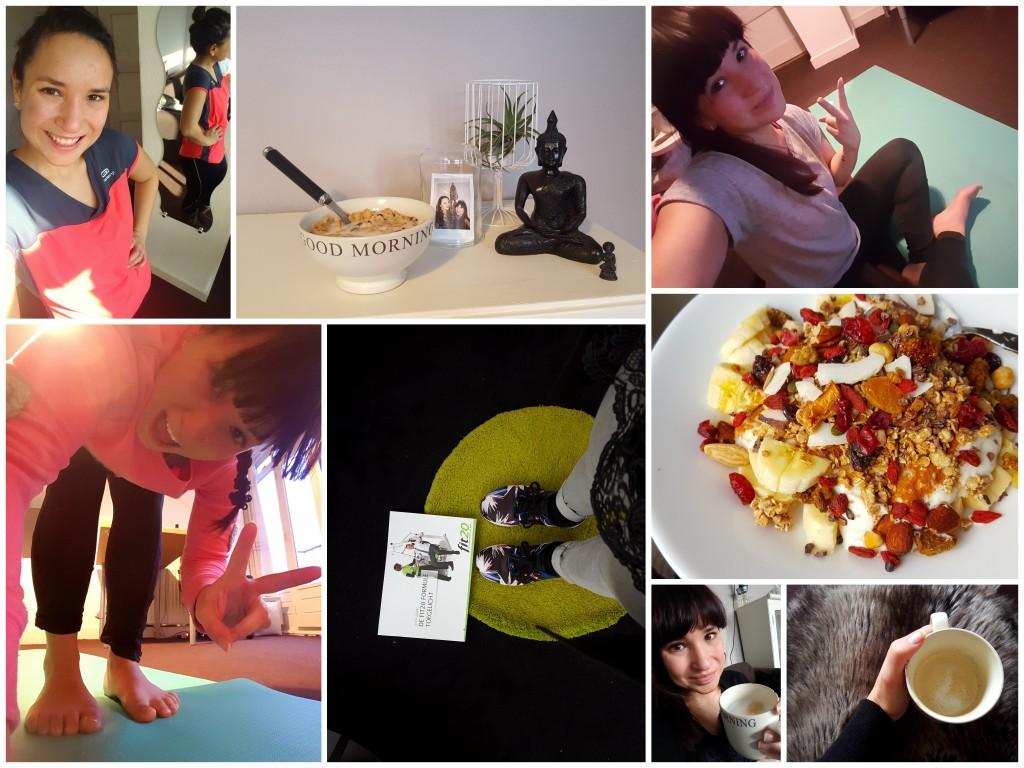 sporten yoga en eten