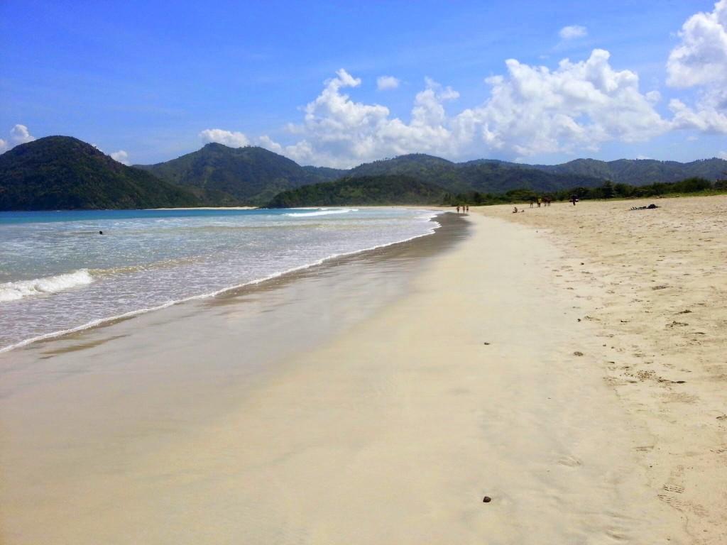 stranden van kuta, Selong Blanak