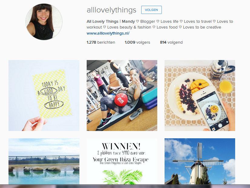 instagram all lovely things