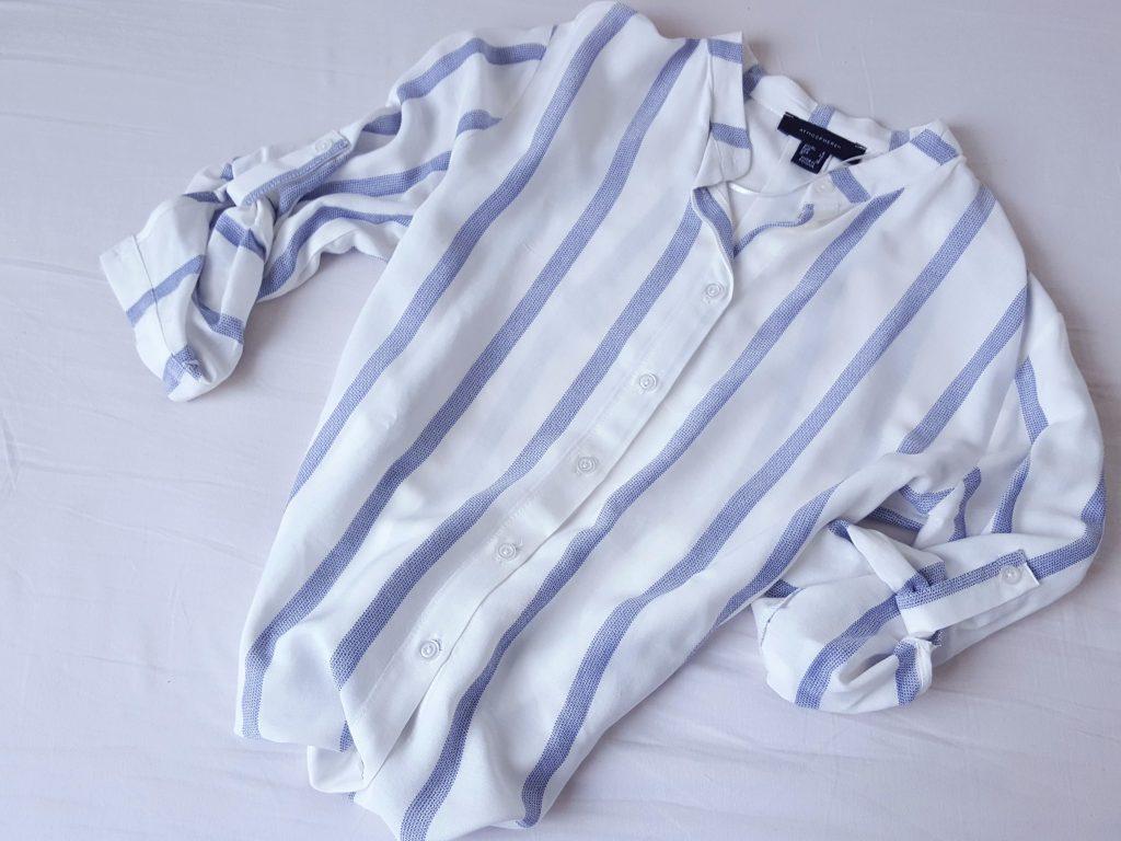 gestreepte blouse primark