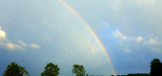 regenboog wandelen