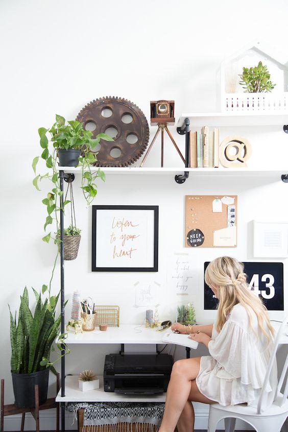werkkamer-inspiratie-plantjes
