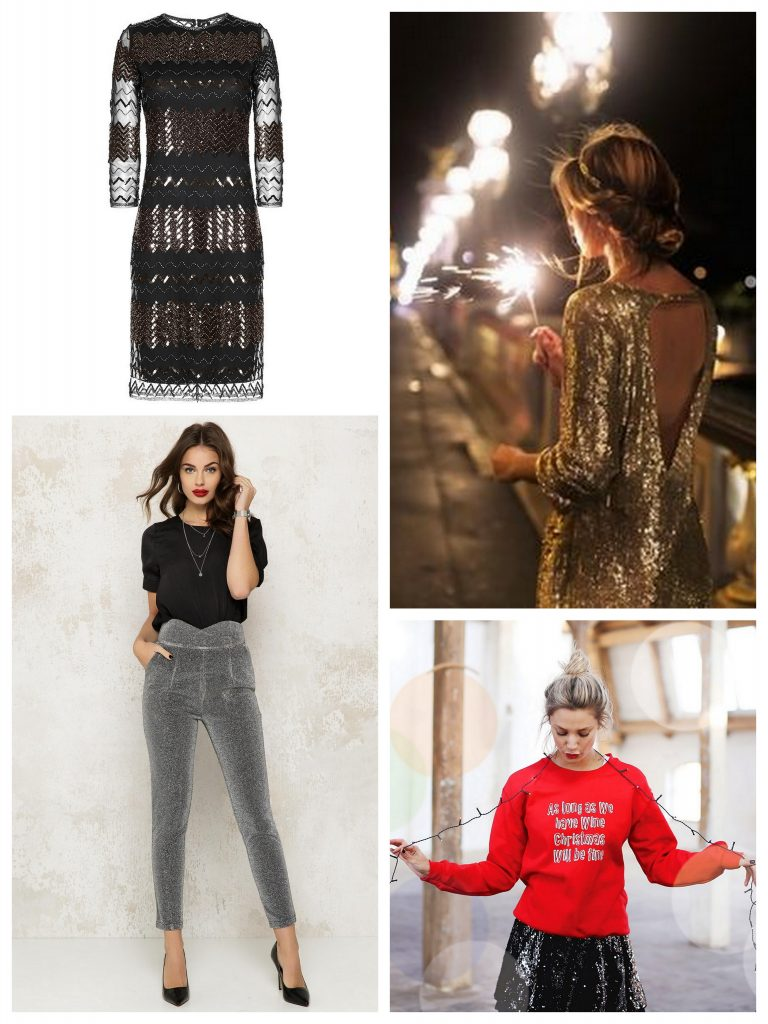 kerst outfit glitters