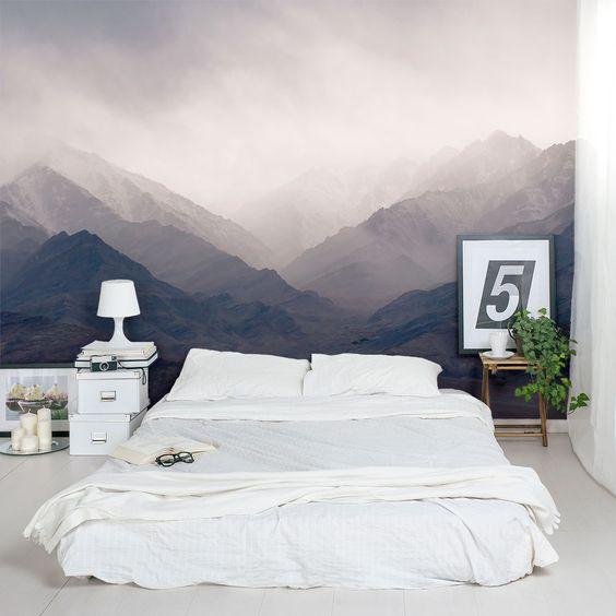 fotobehang pixers slaapkamer inrichten