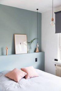 kleur muur slaapkamer inrichten - All Lovely Things