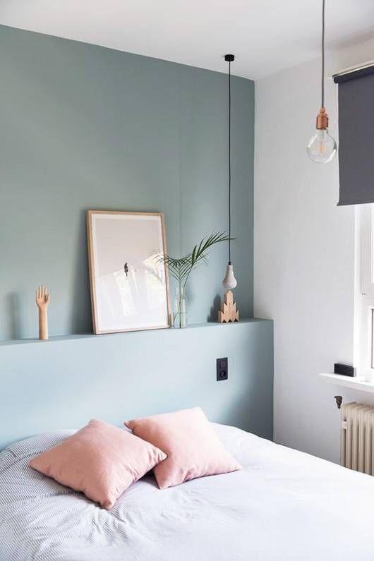 kleur muur slaapkamer inrichten